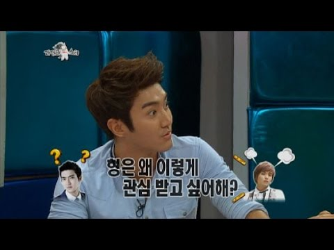 【TVPP】 Siwon(Super Junior) - Quarrel with Ryeowook,  시원(슈퍼주니어) - 오버 때문에 려욱과 싸움 @Radio Star
