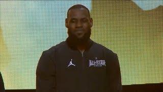 Team LeBron Introduction / Feb 18 / 2018 NBA All-Star Game