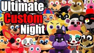 FNAF 6 Plush - Ultimate Custom Night