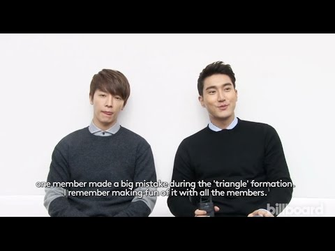 150112 Billboard Interview with Donghae and Siwon