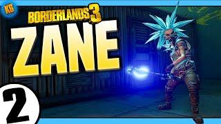 Borderlands 3   Zane   Road to Mayhem Day #2 - Funny Moments & Legendary Loot   menu