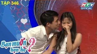 HTV BẠN MUỐN HẸN HÒ | Cô nàng Thanh Hóa trổ tài sáng tác thơ | BMHH #346 FULL | 7/1/2018