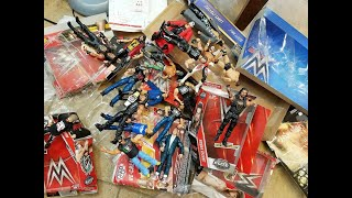 MY LARGEST WWE FIGURE UNBOXING YET