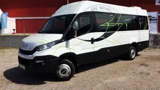 Le minibus GNV Iveco Daily au salon Expo Biogaz