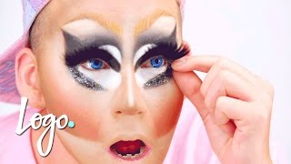 Drag Makeup Tutorial: Trixie Mattel's Legendary Makeup | RuPaul's Drag Race | Logo