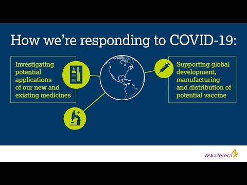 AstraZeneca's response to COVID-19