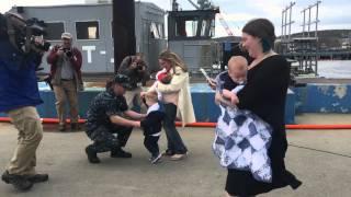 USS Toledo homecoming