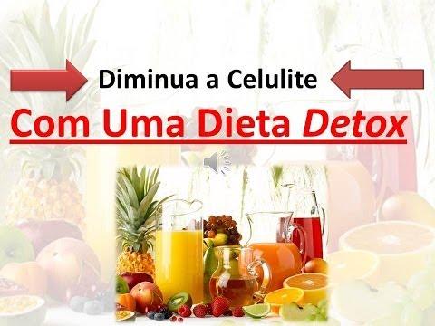 Como Diminua a Celulite Com Uma Dieta Detox