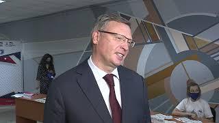 Александр Бурков принял участие в диктанте Победы
