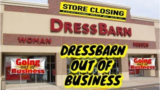 Dress Barn OUT OF BUSINESS! 7000 Employess & 650 stores