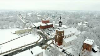Valmiera ziemā.