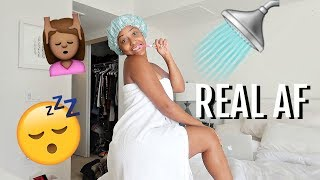 MY REAL AF MORNING ROUTINE!!!