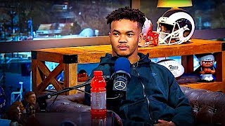 Kyler Murray Answers ZERO Questions about Football or Baseball from Dan Patrick   2/1/19
