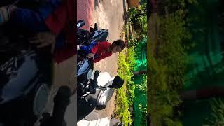 Baby on bike|vivan sitting on bike alone
