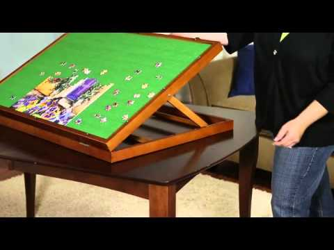 Puzzleboard Jigsaw Puzzle Storage Made Easy Youtube