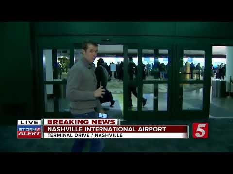 Winter Weather Cancels Flights At Nashville Airport