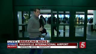 Winter Weather Cancels Flights At Nashville Airport