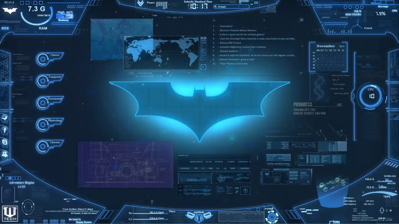 My Free Wallpapers Batman