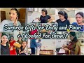My Surprise Gifts to Dolly & Pinni!?|Meeting then after a Long Time,Cooking my Special Recipe&More||