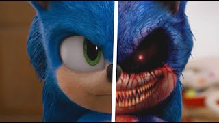 Sonic The Hedgehog Movie Choose Your Favorite Desgin For Both Characters (Sonic EXE & Sonic)
