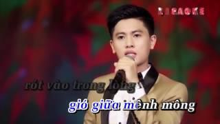 Hoa Nở Về Đêm - Karaoke -  Nguyễn Thành Viên - beat chuẩn