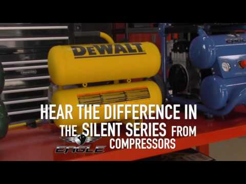 video Eagle 153120H2-MS208 Horizontal Air Compressor 3 Phase Power