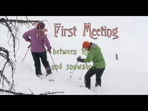 The Hoks meet snowshoes