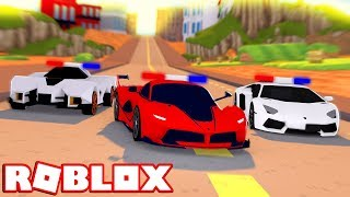 NEW POLICE CARS IN ROBLOX! (Roblox Jailbreak)