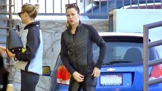 EXCLUSIVE - Jennifer Garner Sexy In Spandex Hitting The Gym