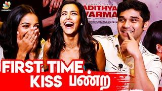 பொண்ணுங்க கிட்ட அவ்வளவு பேச மாட்டேன் : Dhruv Vikram Interview on Adithya Varma | Priya Anand