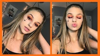 All Drugstore Cute& Easy Halloween Makeup