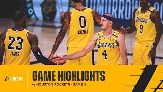 HIGHLIGHTS | Los Angeles Lakers vs Houston Rockets