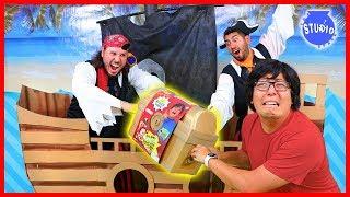 Pirates Took Ryan's World Mega Treasure Chest from me!!!!