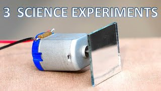 3 Amazing Science Experiments In Hindi