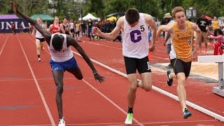 The Greatest High School 800m Race Ever