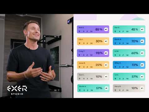 Exer Studio is here - Free realtime data for virtual workouts on Zoom & Instagram using just the device camera - no hardware or equipment needed. Enhance the virtual workout experience with effort zones, output scoring and leaderboards. Add competitive dynamics back into digital workouts - livestreamed or on-demand, on any video platform.
