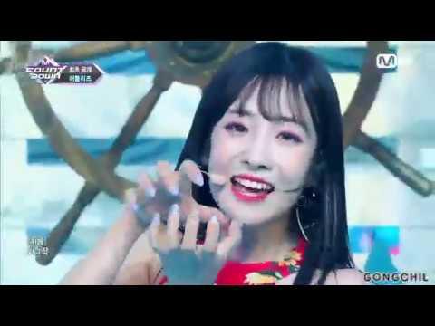 러블리즈(Lovelyz) - 여름 한 조각(Wag-zak) 교차편집(Stage Mix)