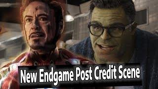 Avengers Endgame Post Credit Scene Details & Hulk Scene Explained
