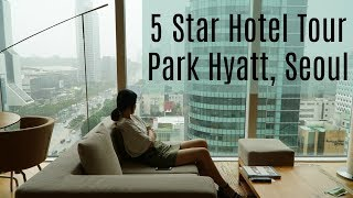 Free Stay at a 5 Star Hotel Suite - Park Hyatt Tour , Gangnam Seoul