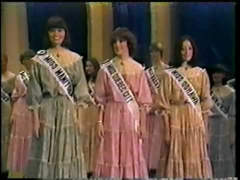Miss Canada 1979. - Final Walk, Crowning Moment. -