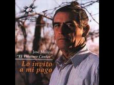José Molina  El Viñatero Cantor  Deja de llorar paloma