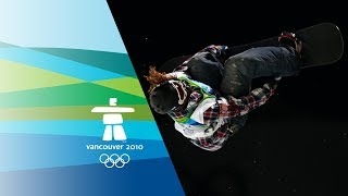 Shaun White's Stunning Performance Wins Half-Pipe Gold - Vancouver 2010 Winter Olympics