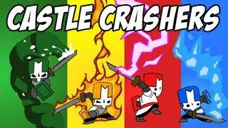 Castle Crashers w/ Mangaminx, CinnamonToastKen, and Yamimash! | Part 2