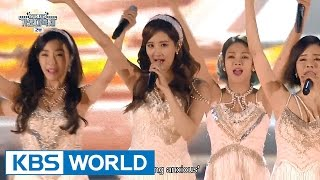 Girls' Generation - PARTY / Lion Heart [2015 KBS Song Festival / 2016.01.23]