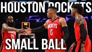 Houston Rockets Small Ball Breakdown | NBA Film Room