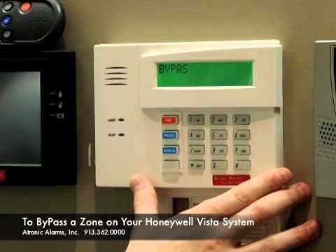 Atronic Alarms Demonstrates the Honeywell Vista System