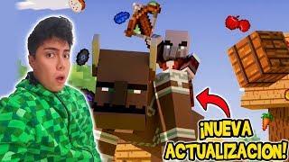 NUEVA ACTUALIZACIÓN En Minecraft Village & Pillage Xbox one/Switch/W10/PE Reacción Trailer