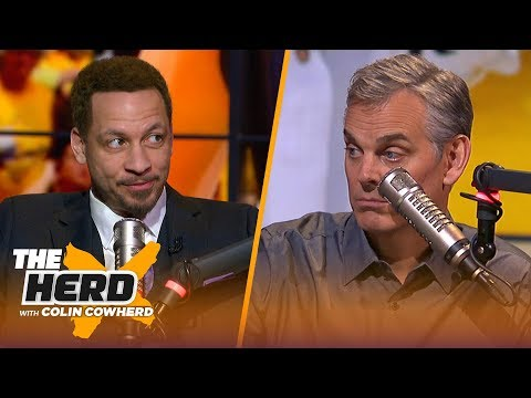 Warriors will win Game 3, KD can handle NY media & Kyrie-AD on Nets — Broussard | NBA | THE HERD