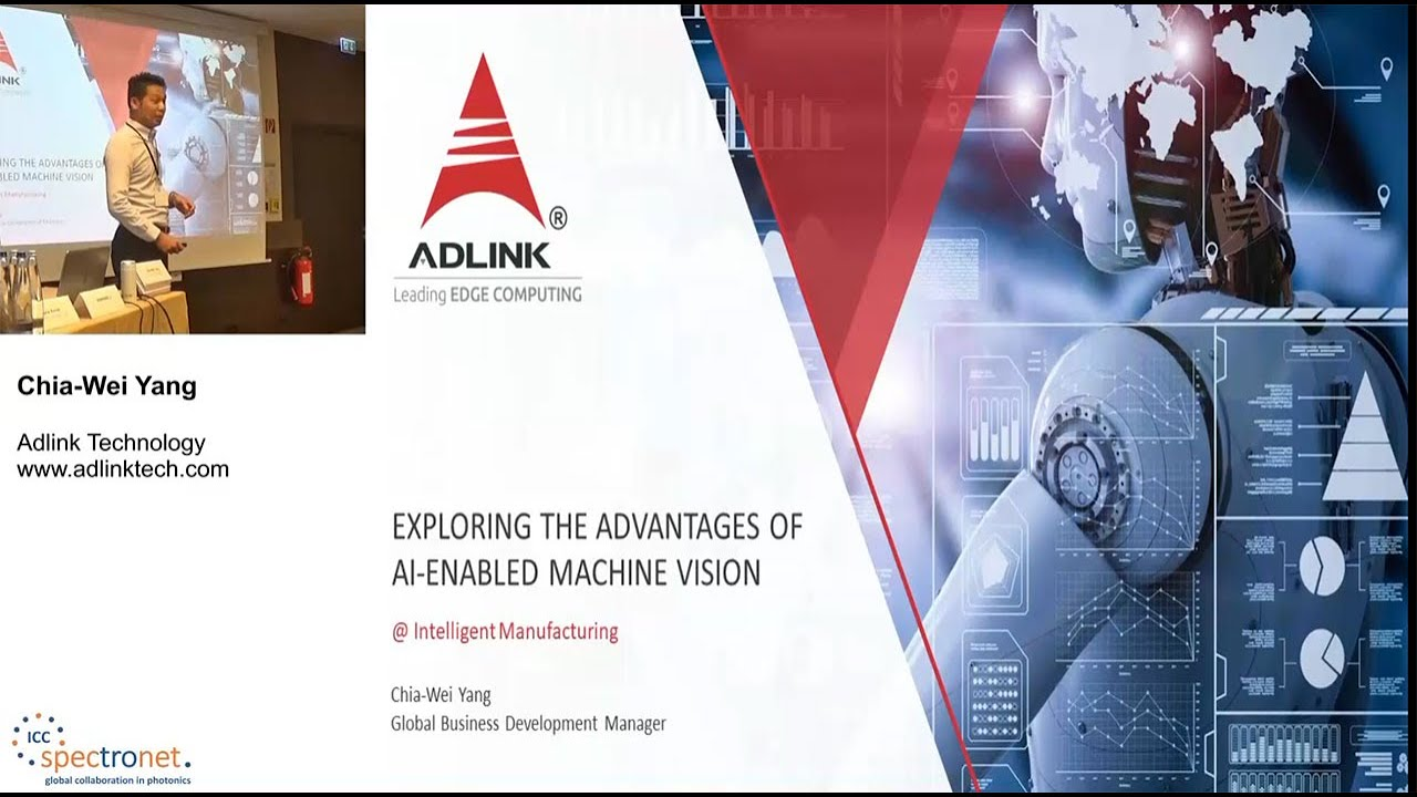 Exploring the advantages of AI-enabled machine vision in intelligent manufacturing - Technologieforum Bildverarbeitung 2019