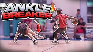 Mikey Williams and the Mobley Brothers GO OFF in PRO RUNS! 🔥 **CRAZY ANKLE BREAKER**